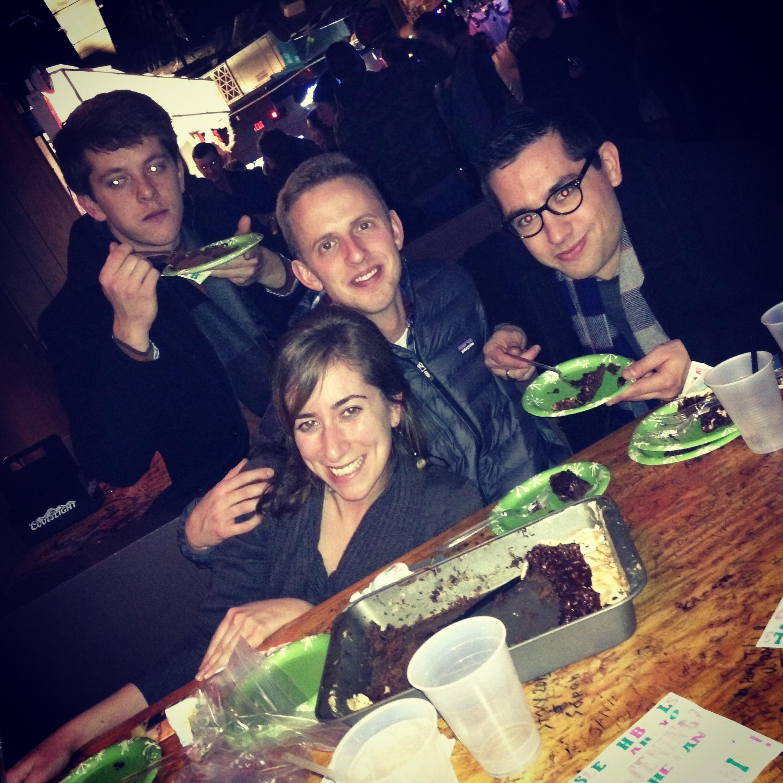 nashville natives cake eater friends
