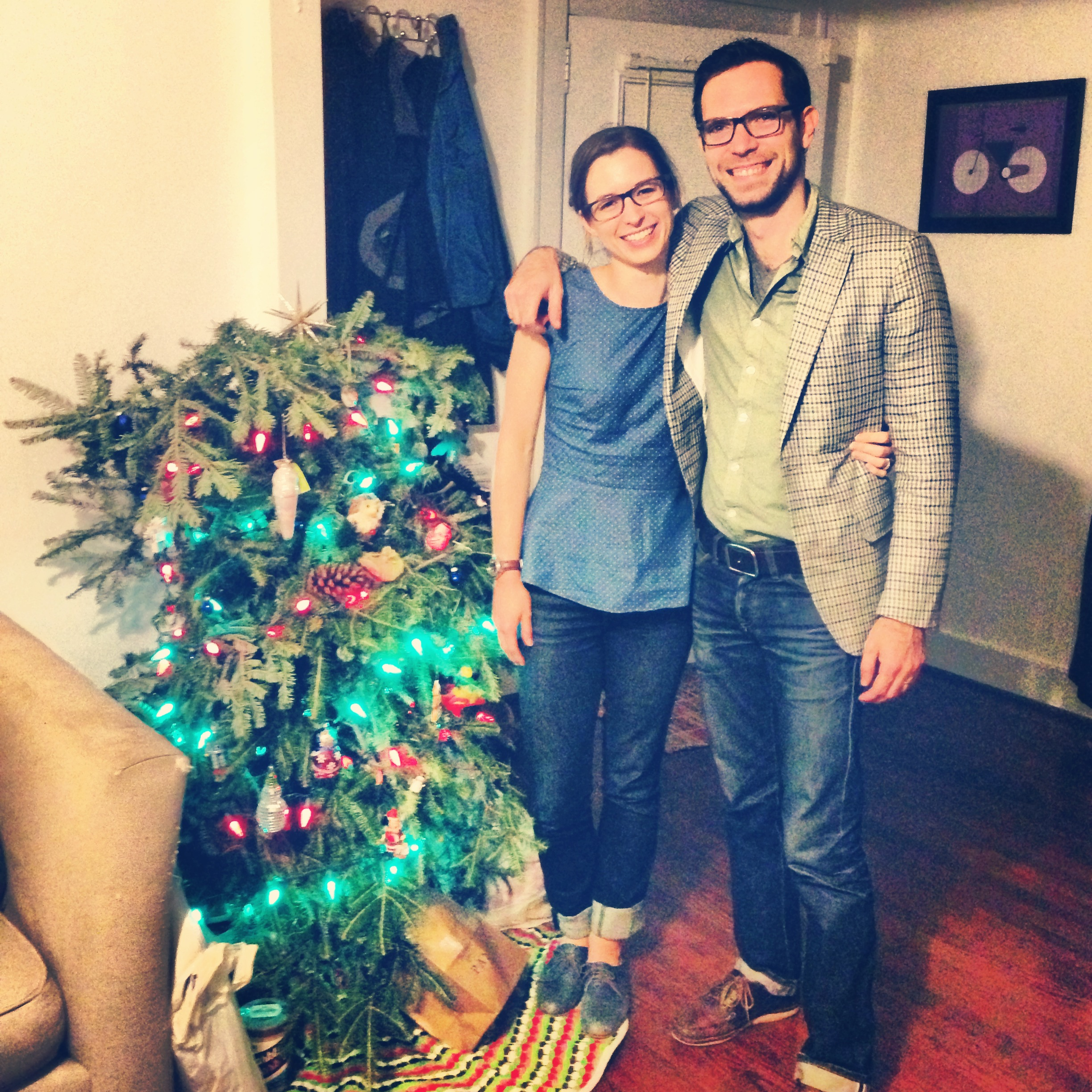 iliza and mike and their crafty tree
