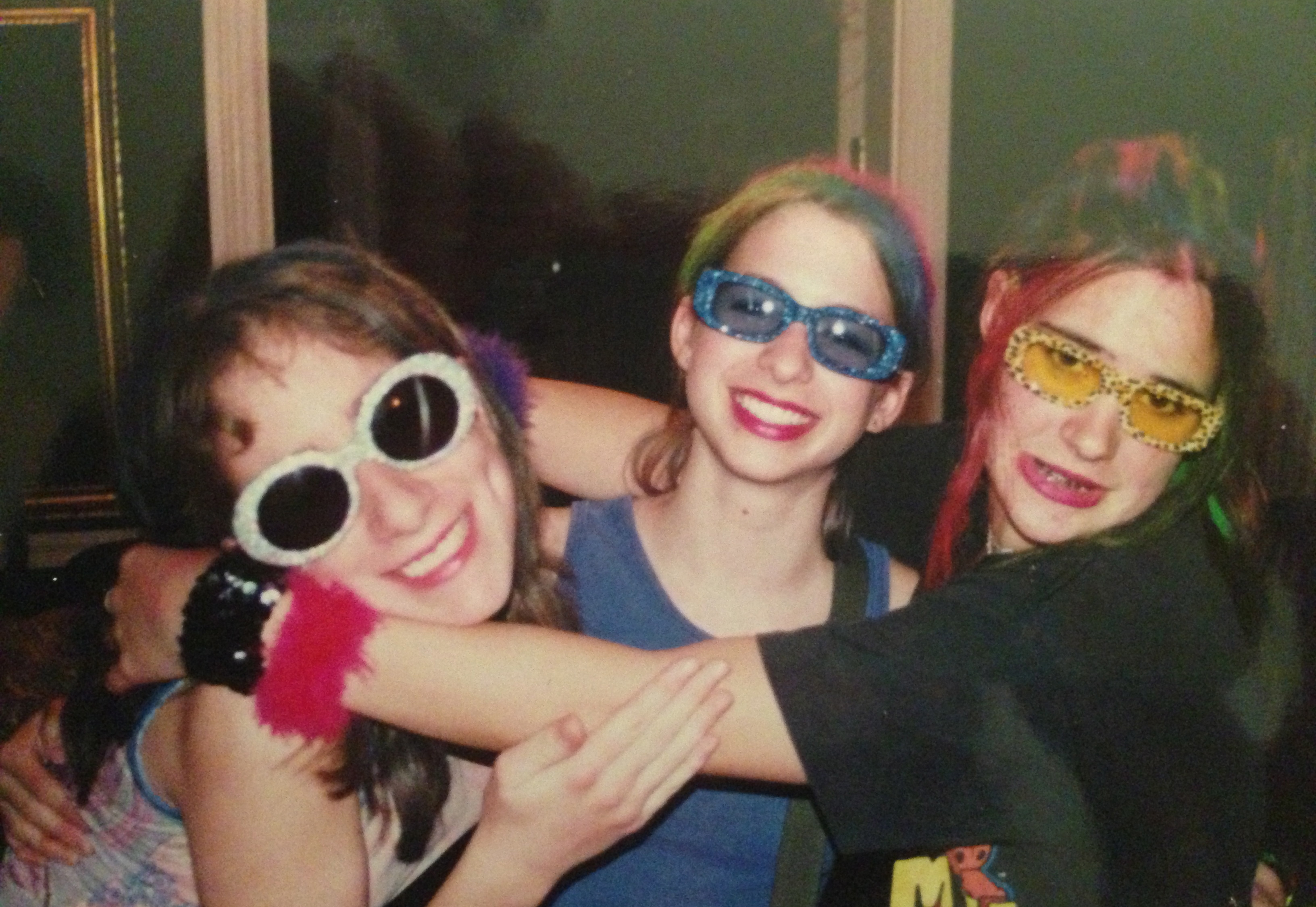 me, iliza, carrie pre-hanson concert, the year 2000